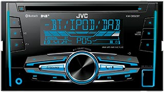 KW-DB92BT DAB-radio